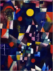 Premium poster  The full moon - Paul Klee