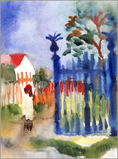 Wall sticker  Garden Gate - August Macke