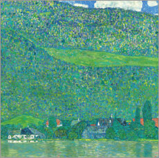 Acrylic print  Litzlberg on the Attersee - Gustav Klimt