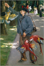 Gallery print  Man with Parrots - Max Liebermann
