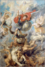 Gallery print  The Angelic Cloak - Peter Paul Rubens