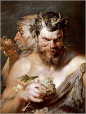 Wall sticker  Two Satyrs - Peter Paul Rubens