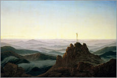 Gallery print  Morning in the Giant Mountains - Caspar David Friedrich