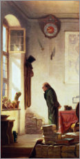 Gallery print  The Cactus Lover - Carl Spitzweg