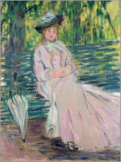 Gallery Print  In the park - Claude Monet
