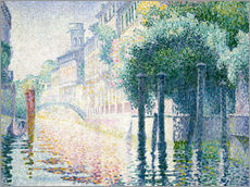Gallery print  Kanal in Venedig. Um 1904 - Henri Edmond Cross