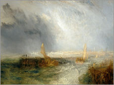 Gallery print  East End - Joseph Mallord William Turner