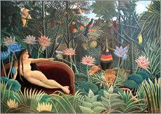 Wall sticker  The dream - Henri Rousseau