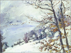 Gallery print  The Walchensee in winter - Lovis Corinth