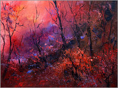 Gallery print  Sunrise in the forest - Pol Ledent