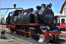 Gallery print  historical steam train Molli - Fine Art Images