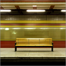 Gallery print  Ghosttrain - Tubestation - Nordbahnhof Berlin - CAPTAIN SILVA