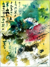 Wall sticker  Abstract signs - Pol Ledent
