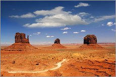 Wall sticker  Monument Valley Navajo National Monument - Renate Knapp