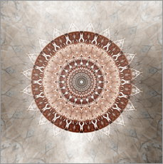 Wall sticker Mandala gentleness