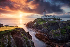 Gallery Print  Fanad Light - Michael Breitung