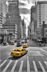 Wall sticker  new York Yellow Cab - Marcus Klepper