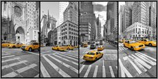 Wall Stickers  New York Cab Collage - Marcus Klepper