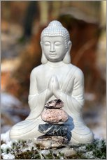 Gallery Print  Buddha Happy - Renate Knapp Waldundwiesenfee