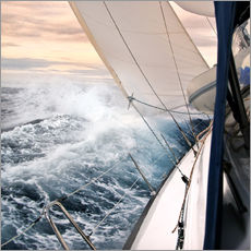 Wall Stickers  Sailing through the storm - Jan Schuler