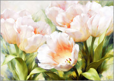 Wall sticker  Pink tulips - Igor Levashov