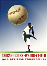 Wall Stickers  chicago cubs 1950 - Sporting Frames