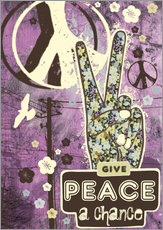 Wall sticker  Give Peace A Chance - Elisandra Sevenstar