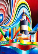 Gallery print  lighthouse hooks head I - Gerhard Kraus