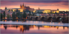Gallery Print  Prague Vista - Michael Breitung