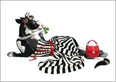 Wall Stickers  glamour cow 2 - Tanja Doronina