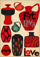Wall Stickers  fatlava love - Elisandra Sevenstar