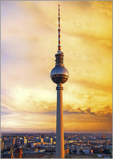 Wall sticker Berlin television tower