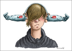Gallery print  Youtube Boy - Marian Kamensky