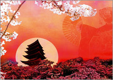 Wall sticker Rising Sun
