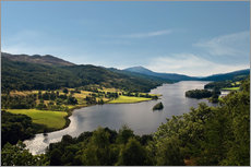 Wall Stickers  Scotland - Queen's View at Loch Tummel - Reiner Würz RWFotoArt