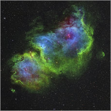 Gallery print  The Soul Nebula - Rolf Geissinger