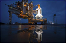 Gallery print  Space shuttle Atlantis - Stocktrek Images