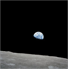 Wall sticker Earth from the Moon
