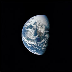 Wall sticker View of the Earth from the spacecraft Apollo 13