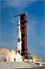 Gallery print  Apollo 11 taking off from Kennedy Space Center - Stocktrek Images