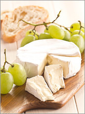Gallery print  French soft cheese - Edith Albuschat