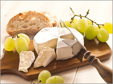 Gallery Print  Cheese and grapes - Edith Albuschat