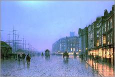 Wall sticker  Port of Liverpool - John Atkinson Grimshaw