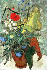 Wall Stickers  Bouquet of Wild Flowers - Vincent van Gogh