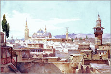 Wall sticker  A view of Damascus - Charles Pierron