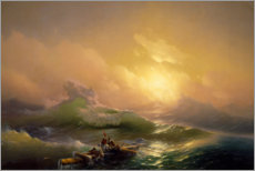 Canvas print  The ninth wave - Ivan Konstantinovich Aivazovsky