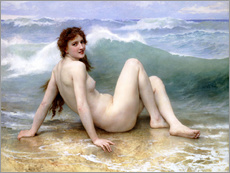 Gallery print  The Wave - William Adolphe Bouguereau