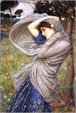 Wall Stickers  Boreas - John William Waterhouse