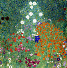 Wall sticker  Flower garden - Gustav Klimt