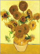 Wall sticker  Sunflowers - Vincent van Gogh